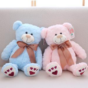 ぬいぐるみ くま クマ テディベア 抱き枕 店飾り ピンク 結婚式 誕生日プレゼント55cm|beluhappines