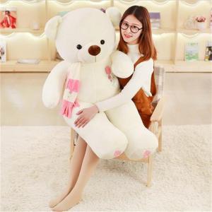 ぬいぐるみ  くま  テディベア 抱き枕 クッション 子供 誕生日プレゼント120cm|beluhappines