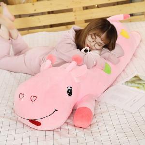 ぬいぐるみ しか 鹿 キリン 抱き枕 クッション かわいい ふわふわ 誕生日ギフト 90cm|beluhappines