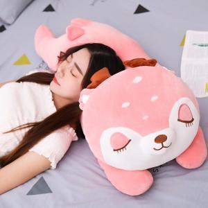 置物  可愛い  しか  ぬいぐるみ  インテリア雑貨  子供 おもちゃ 抱き枕 ギフト50cm |beluhappines