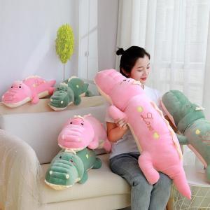 ぬいぐるみ  恐竜  特大 抱き枕 クッション ふわふわ かわいい 誕生日プレゼント100cm|beluhappines