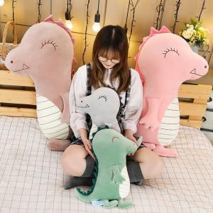 ぬいぐるみ きょうりゅう 抱き枕 クッション かわいい 昼寝枕 インテリア 誕生日プレゼント70cm|beluhappines