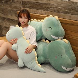 ぬいぐるみ きょうりゅう 抱き枕 クッション かわいい ふわふわ 彼女 クリスマスプレゼント120cm|beluhappines
