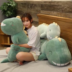 ぬいぐるみ きょうりゅう 恐竜 ふわふわ 抱き枕 クッション かわいい インテリア クリスマスプレゼント90cm|beluhappines