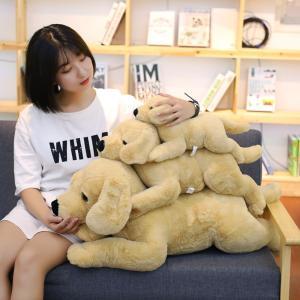 ぬいぐるみ いぬ 抱き枕 クッション かわいい おもちゃ インテリア 40cm|beluhappines