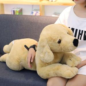 イヌ ぬいぐるみ いぬ リアル ねむねむ 抱き枕 かわいい 誕生日プレゼント80cm|beluhappines