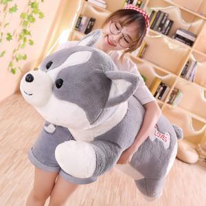 ぬいぐるみ いぬ イヌ 抱き枕 クッション 大きい ふわふわ 誕生日プレゼント120cm|beluhappines