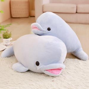 ぬいぐるみ イルカ 海豚 ふわふわ   3色 抱き枕 誕生日 プレゼント インテリア 店飾り 55cm|beluhappines