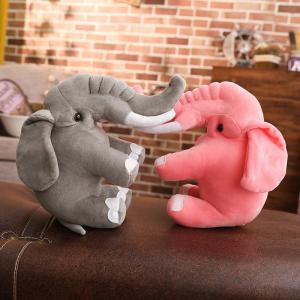ぬいぐるみ ぞう 象 抱き枕 クッション インテリア おもちゃ クリスマス プレゼント60cm beluhappines