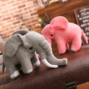 ぬいぐるみ ぞう 象 抱き枕 クッション かわいい 昼寝 赤ちゃん クリスマスプレゼント80cm beluhappines