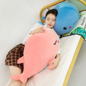 ぬいぐるみ くじら サメ 抱き枕 添い寝 水族館 ふわふわ 癒し キッズ 誕生日プレゼント50cm|beluhappines