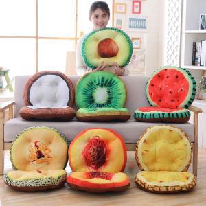 座椅子 腰痛 座いす 座イス クッション 果物 オフィス 昼寝枕 おもしろ雑貨 インテリア 誕生日ギフト beluhappines