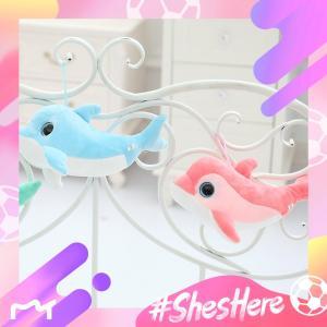キーホルダー ぬいぐるみ イルカ 車用 インテリア雑貨 おもちゃ 店舗装飾 24cm|beluhappines