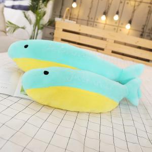 ぬいぐるみ イルカ 抱き枕 クッション おもちゃ ふわふわ かわいい 添い寝 昼寝 誕生日プレゼント50cm|beluhappines