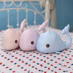 ぬいぐるみ 海豚 イルカ かわいい ふわふわ おもしろ雑貨 抱き枕 クッション 誕生日プレゼント45cm|beluhappines