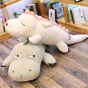 ぬいぐるみ 恐竜 抱き枕 クッション かわいい ふわふわ インテリア 誕生日プレゼント100cm|beluhappines