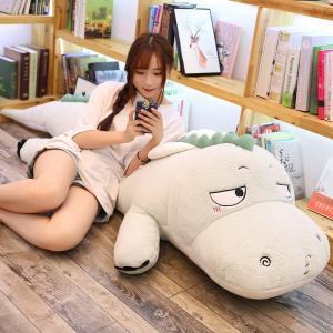 ぬいぐるみ 恐竜 きょうりゅう 抱き枕 クッション かわいい インテリア 昼寝 130cm|beluhappines