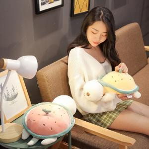 ぬいぐるみ かめ カメ 亀 赤ちゃん 子供 宥め 安眠 こども 出産祝い 誕生日プレゼント65cm|beluhappines
