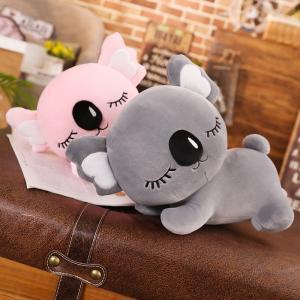 ぬいぐるみ コアラ 抱き枕 クッション おもちゃ インテリア雑貨 誕生日ギフト ピンク グレー 50cm|beluhappines