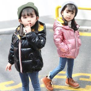 子ども服  ダウンジャケット 防寒 軽量 女の子ダウンコート  冬着 シルバー ゴールド ブラック ピンク beluhappines