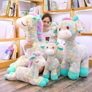 ぬいぐるみ しか 鹿 抱き枕 クッション かわいい ふわふわ 誕生日プレゼント|beluhappines