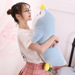 ぬいぐるみ ペンギン ふわふわ ねむねむ抱き枕 縫いぐるみ 昼寝枕 誕生日ギフト 70cm|beluhappines