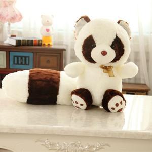 ぬいぐるみ アライグマ ふわふわ 抱き枕 インテリア おもちゃ かわいい 出産祝い プレゼント50cm|beluhappines