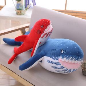 サメ ぬいぐるみ 鮫 抱き枕 インテリア クリスマス 誕生日 プレゼント  1000cm|beluhappines