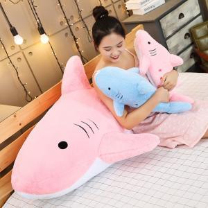 ぬいぐるみ さめ かわいい 昼寝 抱き枕 クッション インテリア 誕生日プレゼント50cm|beluhappines