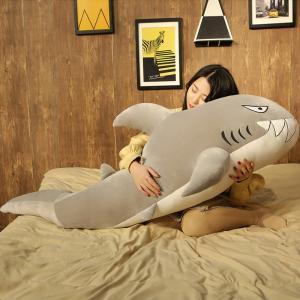 ぬいぐるみ 鮫 さめ 抱き枕 リアル おしゃれ インテリア雑貨 お祝い プレゼント 150cm|beluhappines