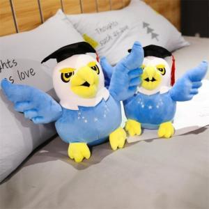 ぬいぐるみ たか 鷹 インテリア 子供 卒業祝い 入学祝い 誕生日プレゼント40cm|beluhappines