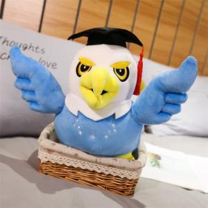 ぬいぐるみ タカ 鷹 抱き枕 インテリア 卒業祝い 入学祝い 誕生日プレゼント55cm|beluhappines