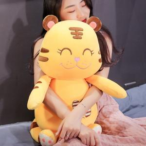 ぬいぐるみ 虎 とら 動物抱き枕 クッション 昼寝まくら インテリア雑貨 店飾り 誕生日プレゼント 65cm beluhappines