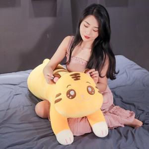 ぬいぐるみ 虎 トラ 抱き枕 クッション 昼寝枕 添い寝 かわいい 誕生日プレゼント90cm beluhappines