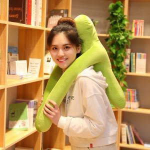 ビーズクッション 人型  人形  抱き枕 おもしろ雑貨 誕生日ギフト 45cm