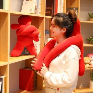 ビーズクッション 人型  人形  抱き枕 おもしろ雑貨 お祝い 誕生日ギフト80cm|beluhappines