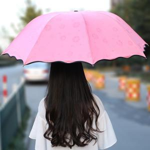 かさ 傘 折りたたみ傘 折り畳み傘 日傘男性 レディース 雨具 晴雨兼用 遮光 遮熱 おしゃれ 花咲く|beluhappines