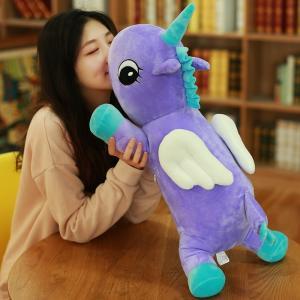 抱き  ぬいぐるみ  ユニコーン もちもち クッション おもちゃ おもしろ雑貨 誕生日ギフト 65cm beluhappines
