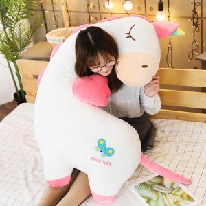 ぬいぐるみ ユニコーン フラミンゴ きょうりゅう 動物 抱き枕 妊婦 添い寝 彼氏枕 誕生日ギフト 120cm beluhappines