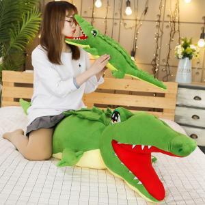 ぬいぐるみ 鰐 わに リアル かわいい おもしろいクッション 笑い 抱き枕 大きい ギフト160cm|beluhappines