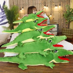 ぬいぐるみ 鰐 わに リアル かわいい 笑い おもしろ雑貨 昼寝まくら おもちゃ こども ギフト75cm|beluhappines