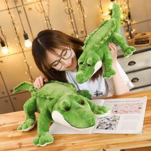 ぬいぐるみ 鰐 わに 抱き枕 縫いぐるみ おもちゃ かわいい こども 誕生日プレゼント 75センチ|beluhappines