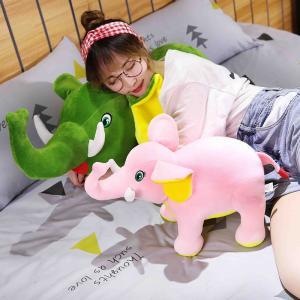 出産祝い ぬいぐるみ ぞう 象 赤ちゃん 抱き枕 おもちゃ かわいい ギフト 45cm beluhappines