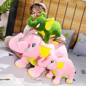 ぬいぐるみ 象 ぞう 抱き枕 おしゃれ インテリア こども 誕生日ギフト 80cm beluhappines