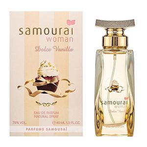 アランドロン サムライ ウーマン ドルチェ バニラ オードパルファム 40ml EDP 香水 レディース|benavi