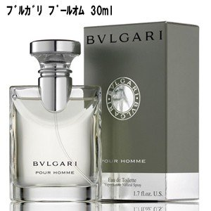 ブルガリ BVLGARI プールオム オードトワレ 30ml EDT 香水 メンズ|benavi
