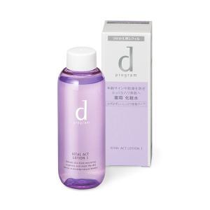 dプログラム バイタルアクト ローション W 1 (つけかえ用レフィル) 化粧水、乳液サンプル1回分付|beniya-beauty