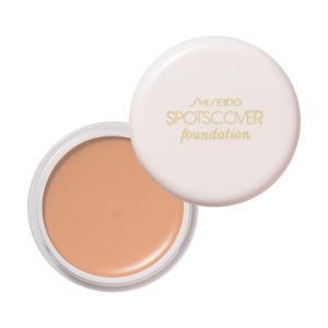 資生堂 スポッツカバー ファウンデイション(ベースカラー 全体用)S300 ピンク系の明る肌色 ネコポス送料200円|beniya-beauty