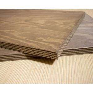 川島材木店 塗装板 針葉樹合板24mm 91cmx41cm(2枚) ラーチ 棚板 板 木 DIY リノベーション|beniyamokuzaicom
