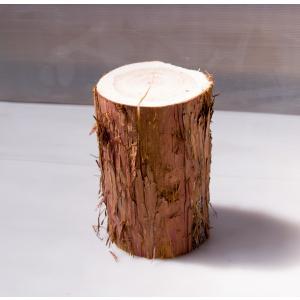 ちび丸太 直径約15cm高さ25cm 安心の国産材です。お部屋に自然の安らぎを。ミニサイズがかわいい ディスプレイ ストレス解消|beniyamokuzaicom